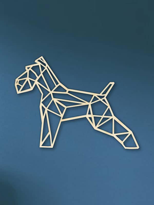 Geometrische houten Fox