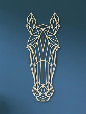 Geometrische houten Paard