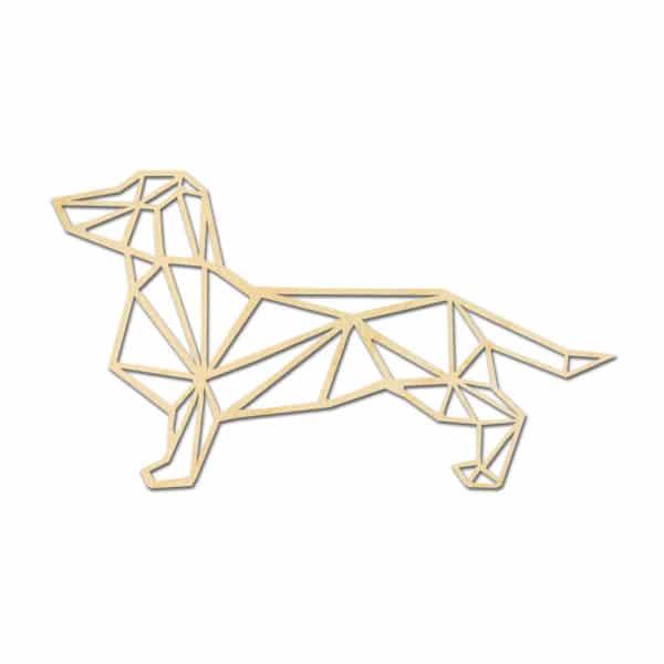 Geometrische houten Tekkel