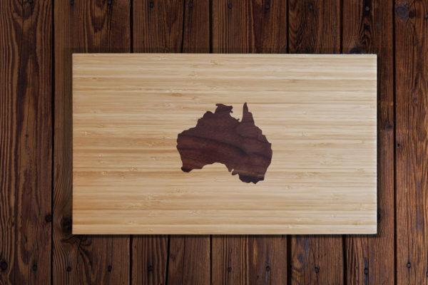 Australie houtinleg snijplank