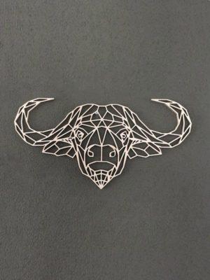 Geometrische waterbuffel
