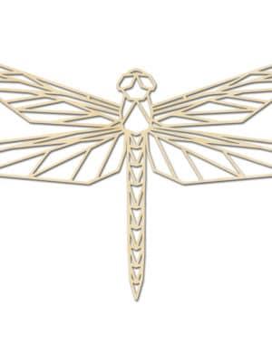 Geometrische houten Libel