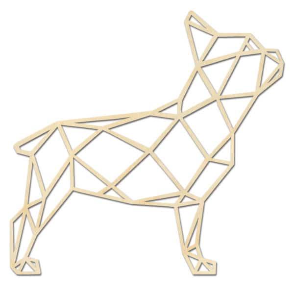 Franse Bulldog Hout staand