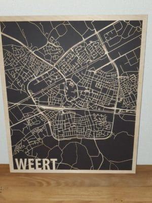 Citymap Weert Hout Berken
