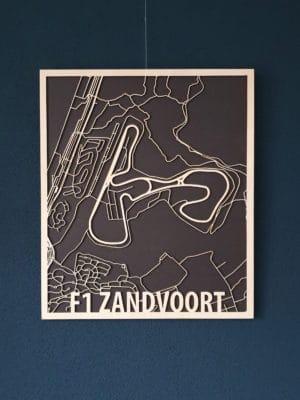 Citymap F1 Zandvoort