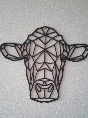 Geometrische Houten Koe