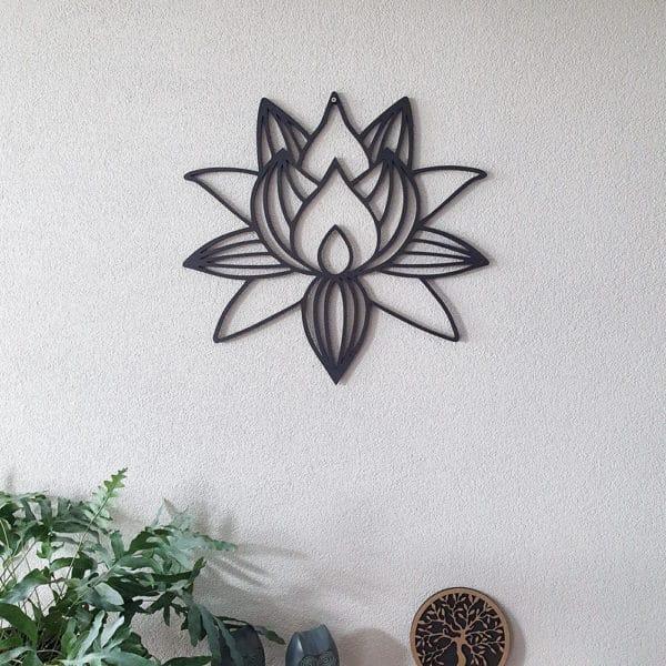 Lotusbloem Geometrisch