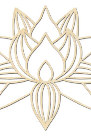 Geometrische Lotusbloem