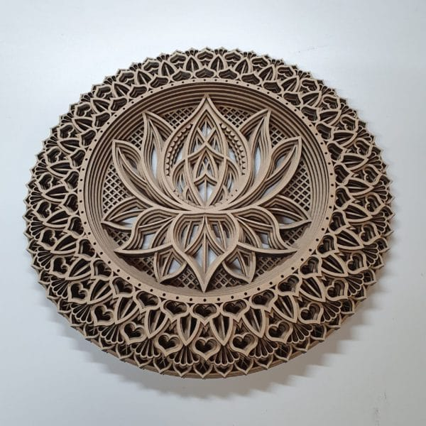 Houten Mandala