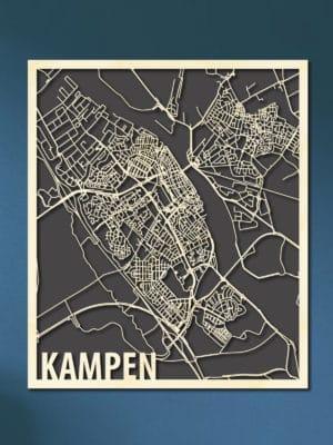 Houten Kaart Citymap