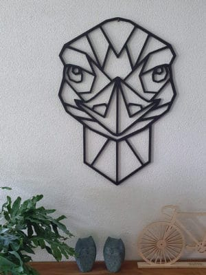 Geometrische Struisvogel