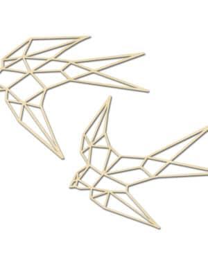 Geometrische zwaluw set