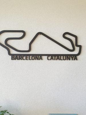 F1 Barcelona Hout