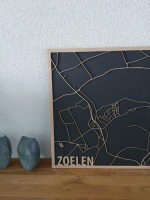 Zoelen Hout kaart