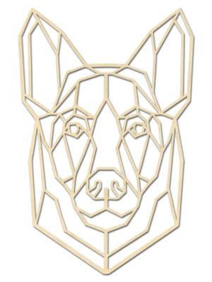 Geometrishce Duitse Herder