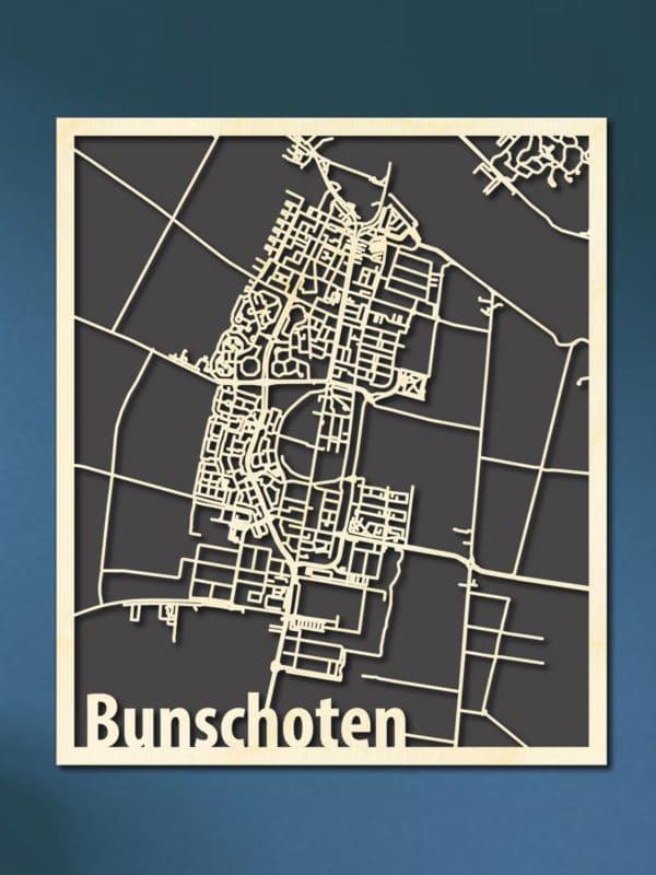 Citymap Bunschoten Spakenburg