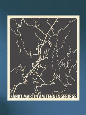Citymap Sankt Martin am tennengebirge
