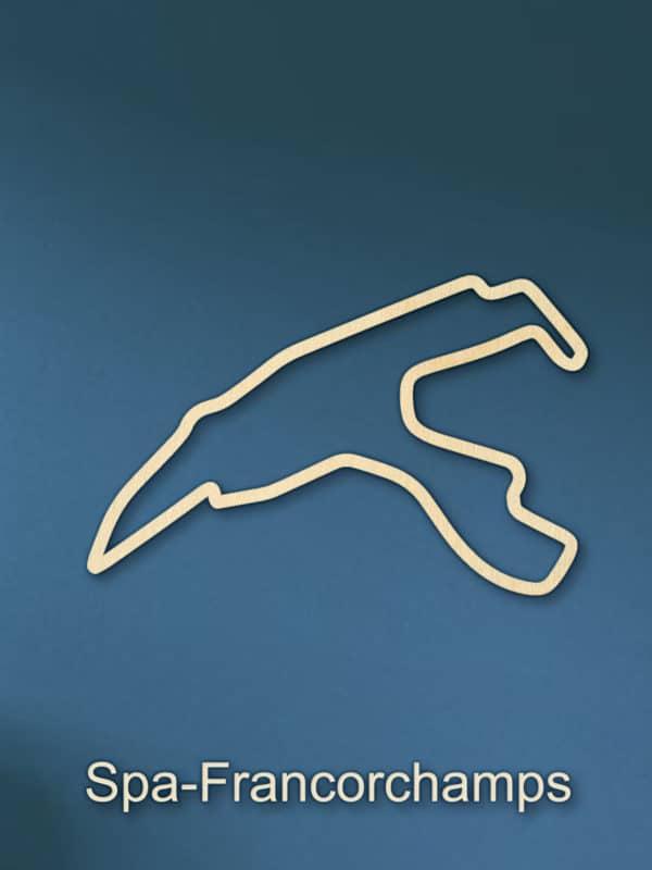 Spa-Francorchamps F1 houten circuit