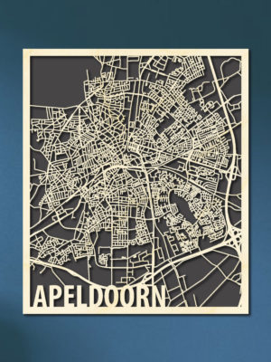 Citymap Apeldoorn