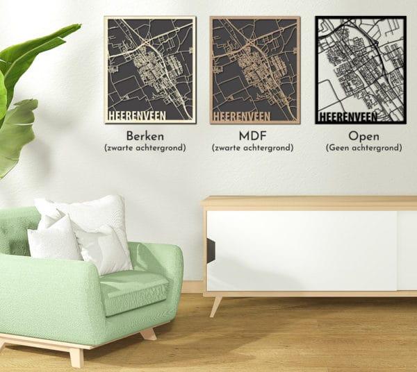Heerenveen Citymaps overzicht