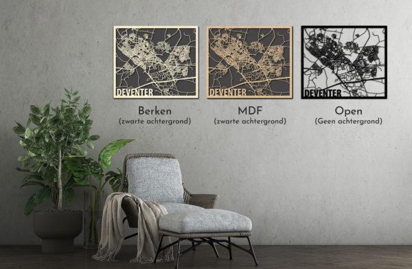 Citymap Deventer vergelijk