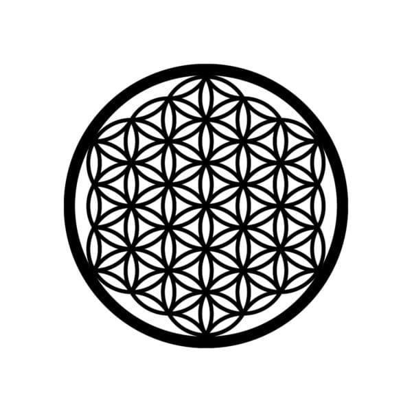Flower of life hout