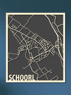 Citymap Schoorl