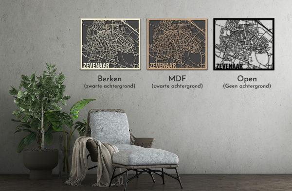 Zevenaar Citymap