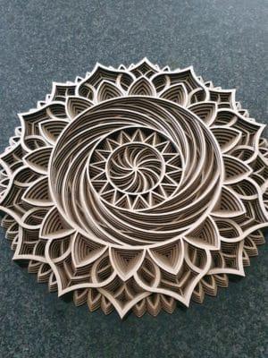 Gelaagde Mandala 2