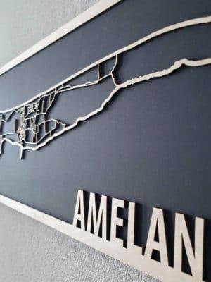 Citymap Ameland