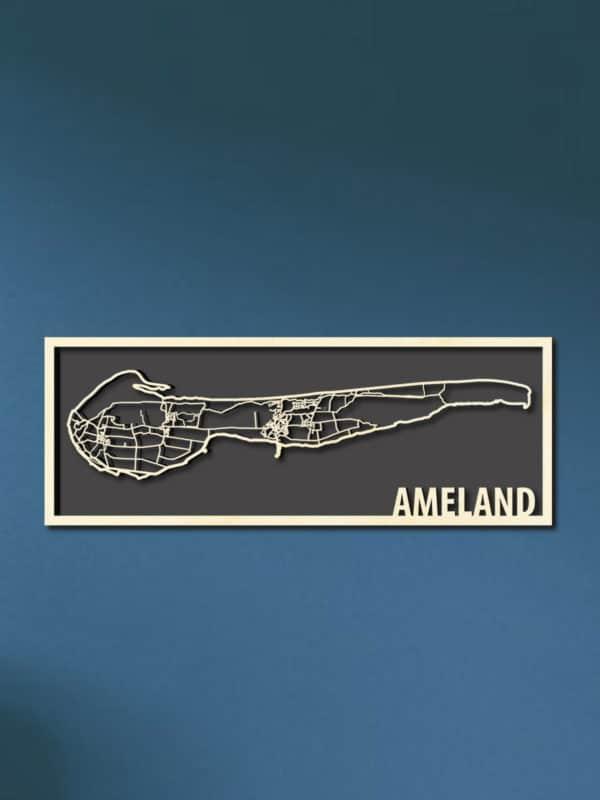 Citymap Waddeneiland Ameland