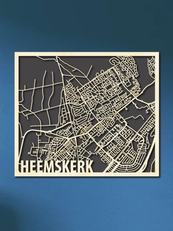 Citymap Heemskerk