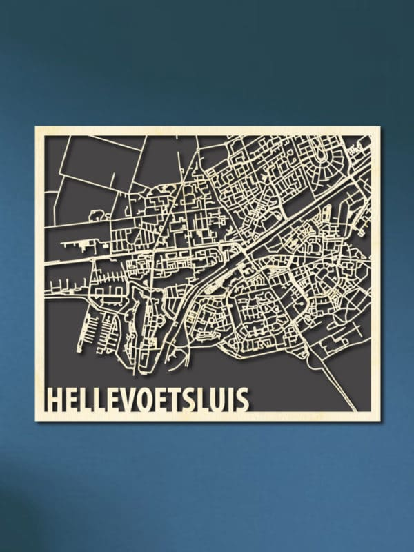 Citymap Hellevoetsluis