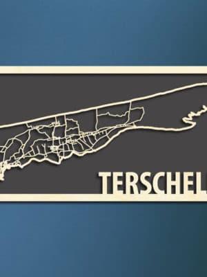 Citymap Terschelling