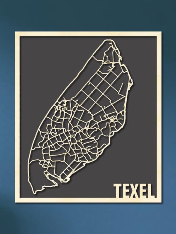 Citymap Texel
