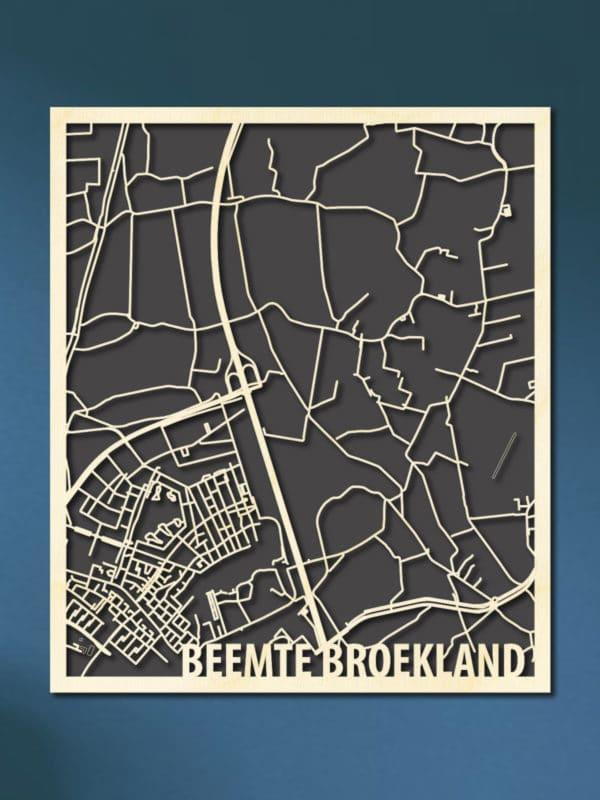 Citymap Beemte Broekland
